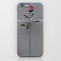 iPhone & iPod Case featuring Roses and bricks by Clara Ungaretti