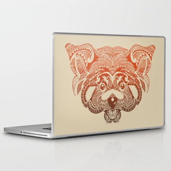 Polynesian Red Panda Laptop & iPad Skin