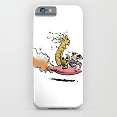 Let's Go Exploring! (Rocket Raccoon & Groot & Calvin & Hobbes mashup) iPhone 6 Slim Case