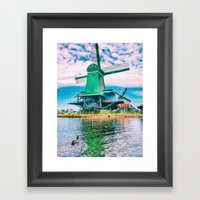 old and beautiful  Framed Art Print