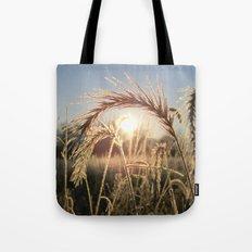 Wheat Sunrise Tote Bag