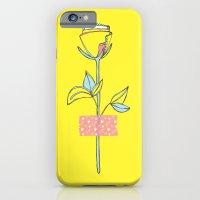 Rosewall (on yellow) iPhone 6 Slim Case
