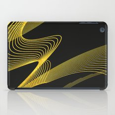 Gold Elegant -Piano Black- iPad Case