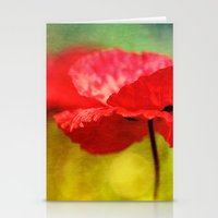 Adorable Poppies... Stationery Cards