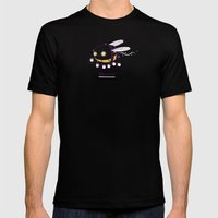 Buzzin Mens Fitted Tee Black SMALL