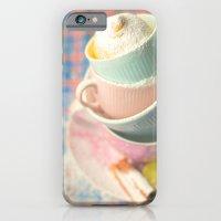 Teacup tower iPhone 6 Slim Case