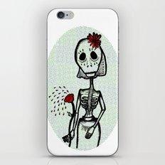 Love and bones iPhone & iPod Skin