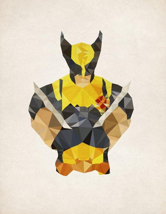 Polygon Heroes - Wolverine Art Print