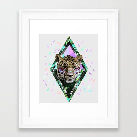 ▲SAFARI WAVES▲ Framed Art Print