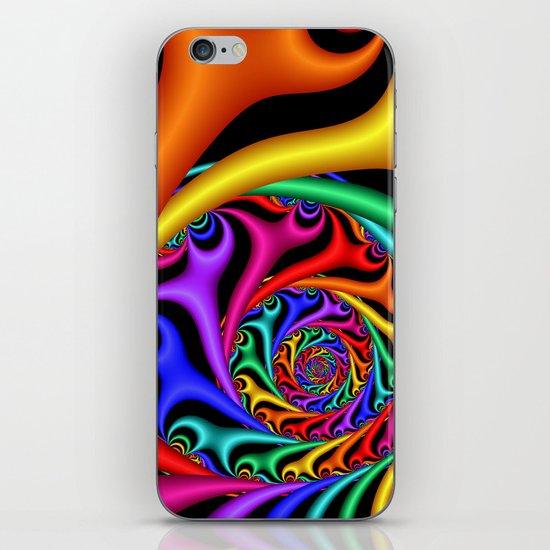 Rainbow III iPhone & iPod Skin