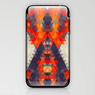 Abstract Triangle Mounta… iPhone & iPod Skin