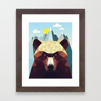 Bear Mountain  Framed Art Print