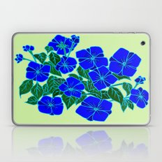 Blue Violets #5 Laptop & iPad Skin