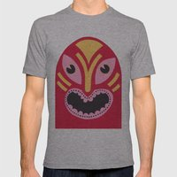 The Jolly Lucha Mens Fitted Tee Athletic Grey SMALL