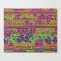 Tribal Stripe Canvas Print