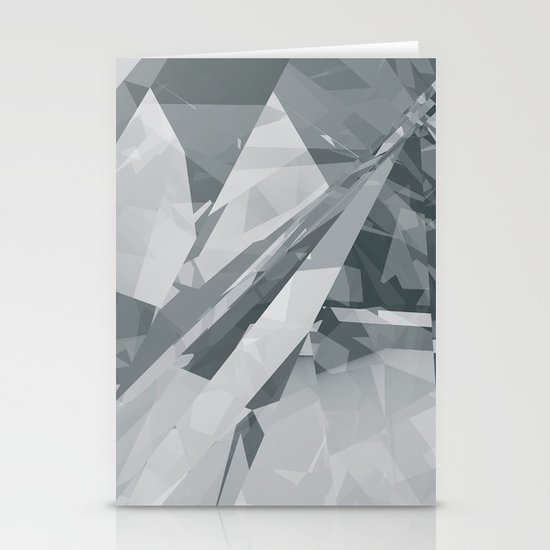 Ice cracks #2 Stationery Card