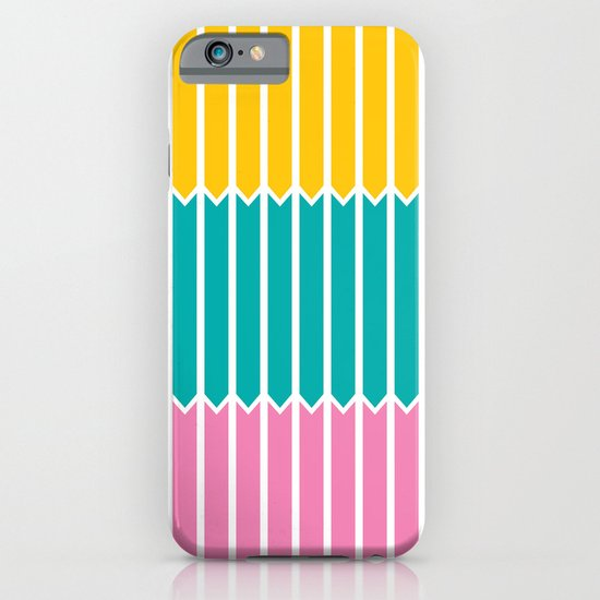 Arrows (Yellow, Aqua, Pink) iPhone & iPod Case