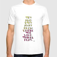 wild things - san cisco Mens Fitted Tee White SMALL