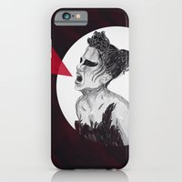 iPhone & iPod Case featuring Black Swan IV by Eltina Giannopoulou