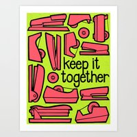 Keep It Together Ii Art Print