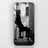 The swing (thinking) iPhone & iPod Skin