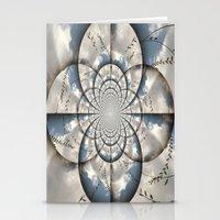 Hypnotic Sky Stationery Cards