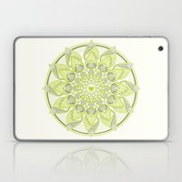 Green Circle Pattern Laptop & iPad Skin