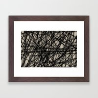 Theory I Framed Art Print
