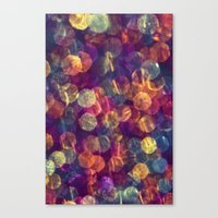 Kaleidoscope Rainbow Canvas Print