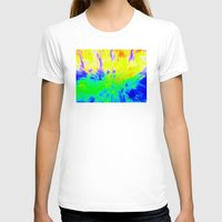 The Hippy Shake Womens Fitted Tee White SMALL