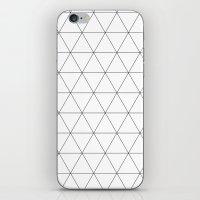 Triangle Tessallation iPhone & iPod Skin