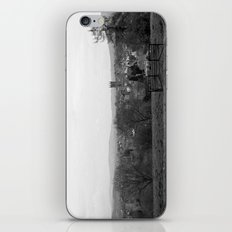 Bench over the Town iPhone & iPod Skin
