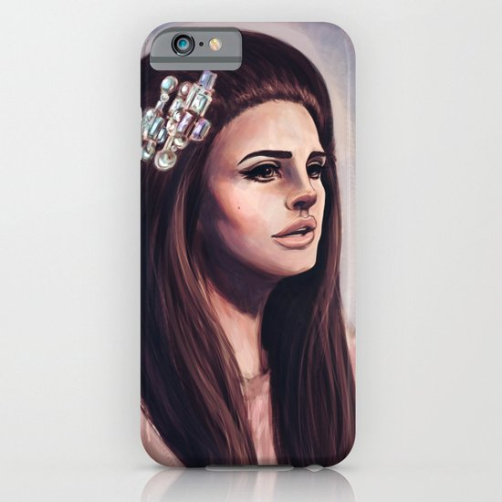 She Wore Blue Velvet iPhone & iPod Case