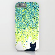 Cat In The Garden Under … iPhone 6 Slim Case