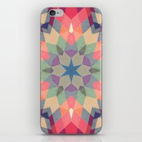 Geo Metrics Two iPhone & iPod Skin