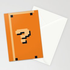 Minimalist Question Block Stationery Cards