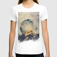 abstract T-shirts featuring One mountain at a time by HappyMelvin