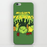Night Of The Vegans iPhone & iPod Skin