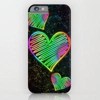 Heart Love Neon Rainbow … iPhone 6 Slim Case