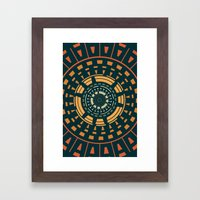 They came Framed Art Print