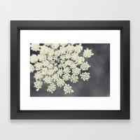 Black And White Queen An… Framed Art Print
