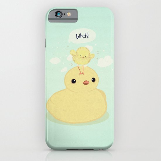 the dark side of fluff iPhone & iPod Case