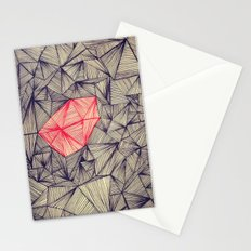 Lines On Lines Stationery Cards