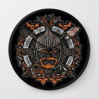 GNG CREST Wall Clock
