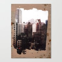 Vanished Canvas Print