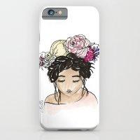 Flower Crown Clara iPhone 6 Slim Case