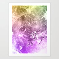 The Quantum Mechanic  Art Print