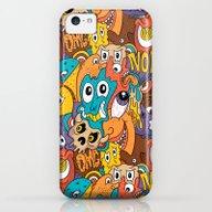 Weird Guys Pattern iPhone 5c Slim Case