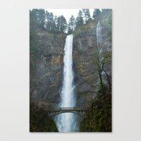 Multomah Falls Canvas Print