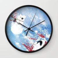 Christmas Time!! Wall Clock